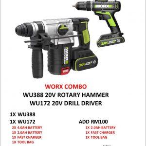 Worx WU388