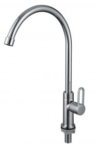 TK-3006R Pillar Sink Tap (Chrome)