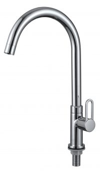 TK-3506R Pillar Sink Tap (Chrome)