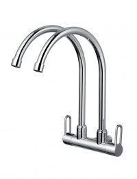 TK-4606R Double Wall Sink Tap (Chrome)
