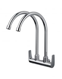TK-4606S Double Wall Sink Tap (Chrome)