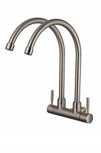 TK-4616Q Double Wall Sink Tap (Matt)