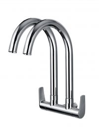 TK-4806S Double Wall Sink Tap (Chrome)