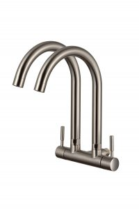 TK-4856Q Double Wall Sink Tap (Matt)
